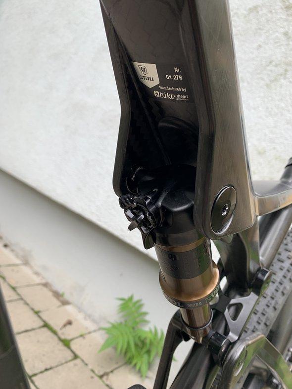 Fahrrad A Head Plug XLC AP Deckel Kappe S01 1 Zoll schwarz Alu