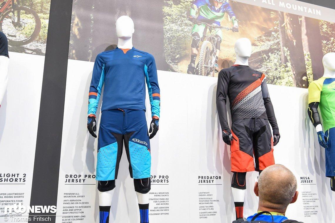 Alpinestars Drop Pro Jersey mit passender Shorts