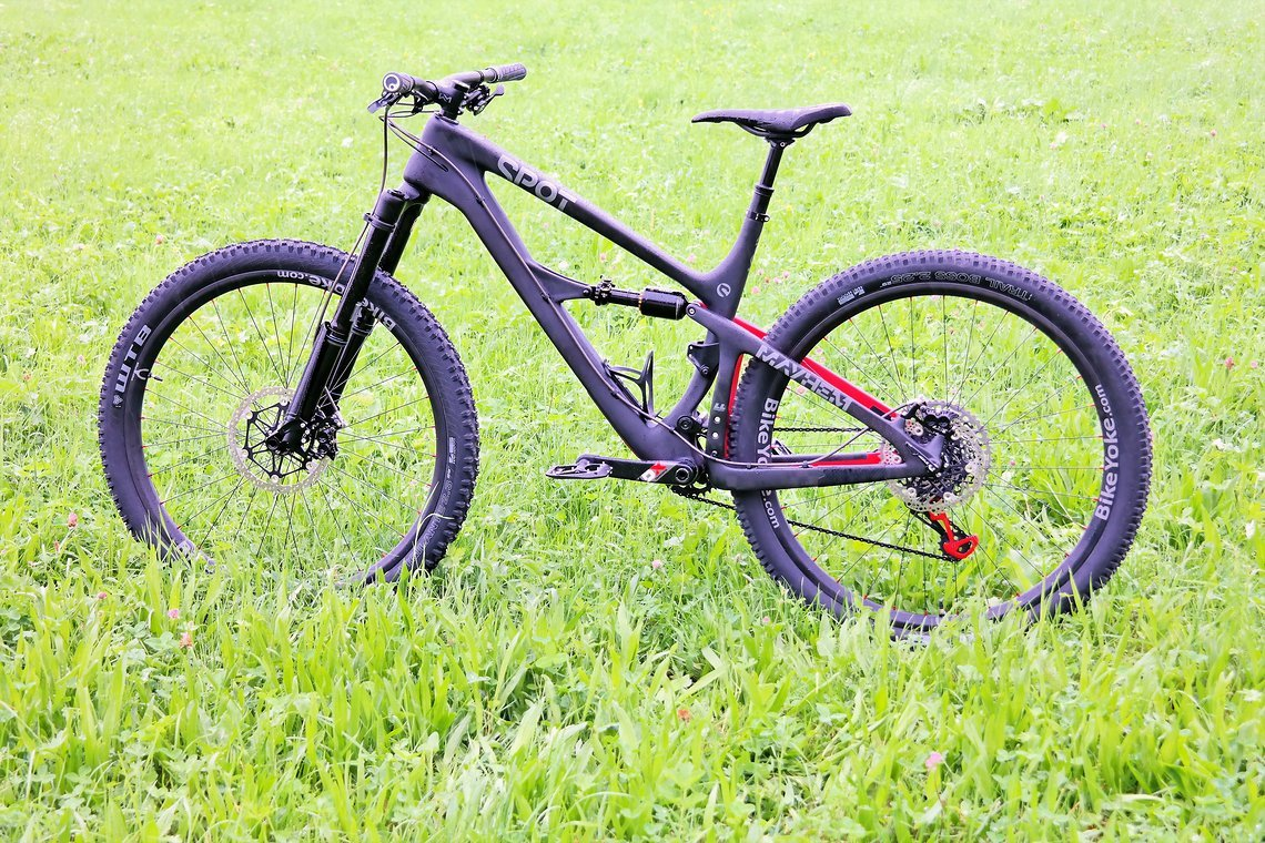 Das Spot Bikes Mayhem 29 von IBC-User Sackmann
