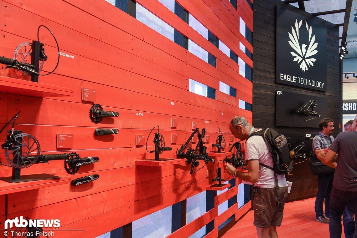 Eagle Technologie wohin das Auge reicht