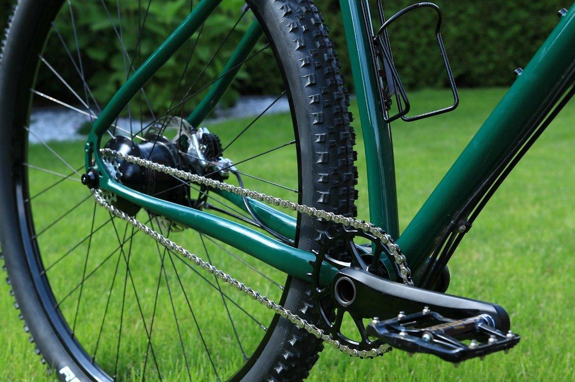 Highlight am Bike ist sicherlich der Antrieb