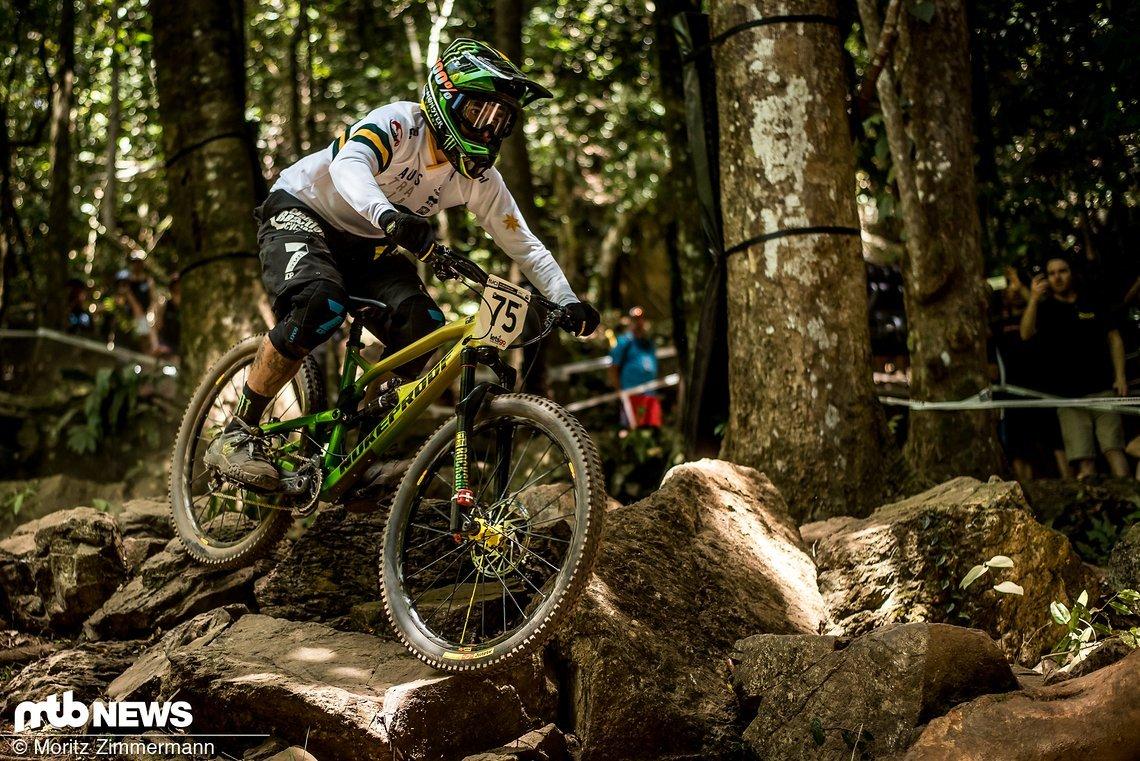 Aufgrund der UCI-Weltrangliste geht der Australier beim Rennen als allererster Fahrer an den Start