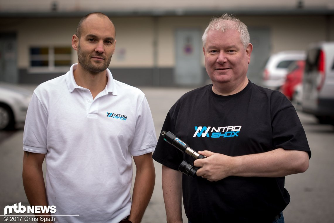 Kevin Hill und Joe Hunter von Nitro Shox