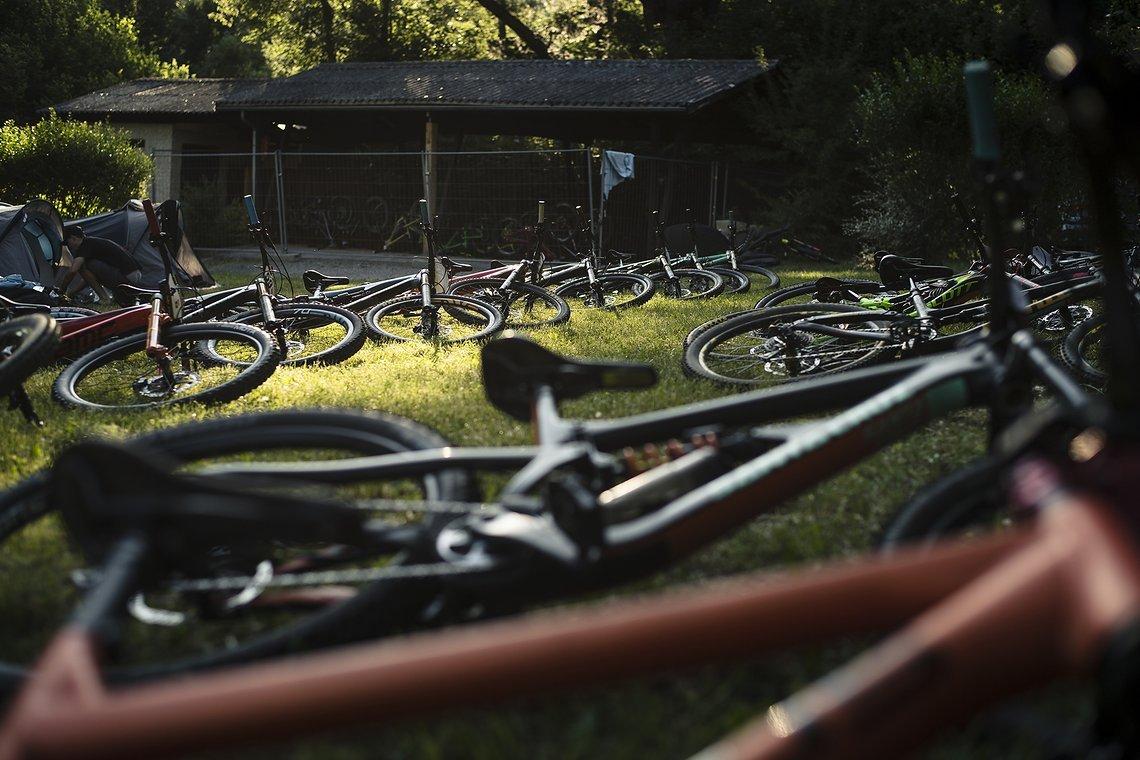 Bikes sind sortiert, es kann losgehen!