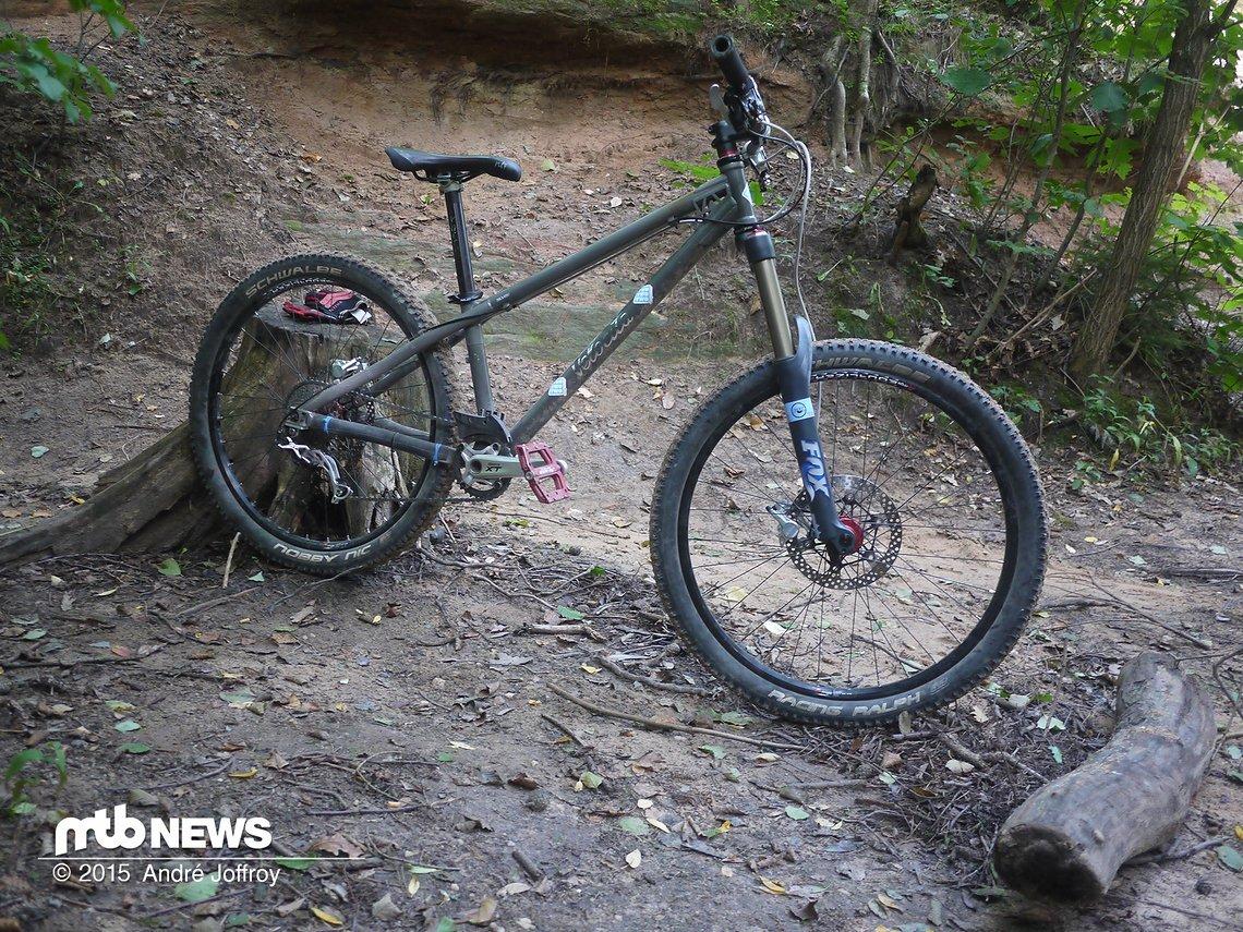Stahl, Trail, Hardtail: Eine Testkolumne - MTB-News.de