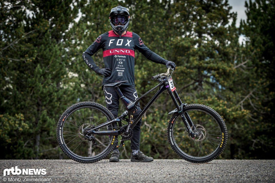 Ist das das edelste Bike im Downhill World Cup?