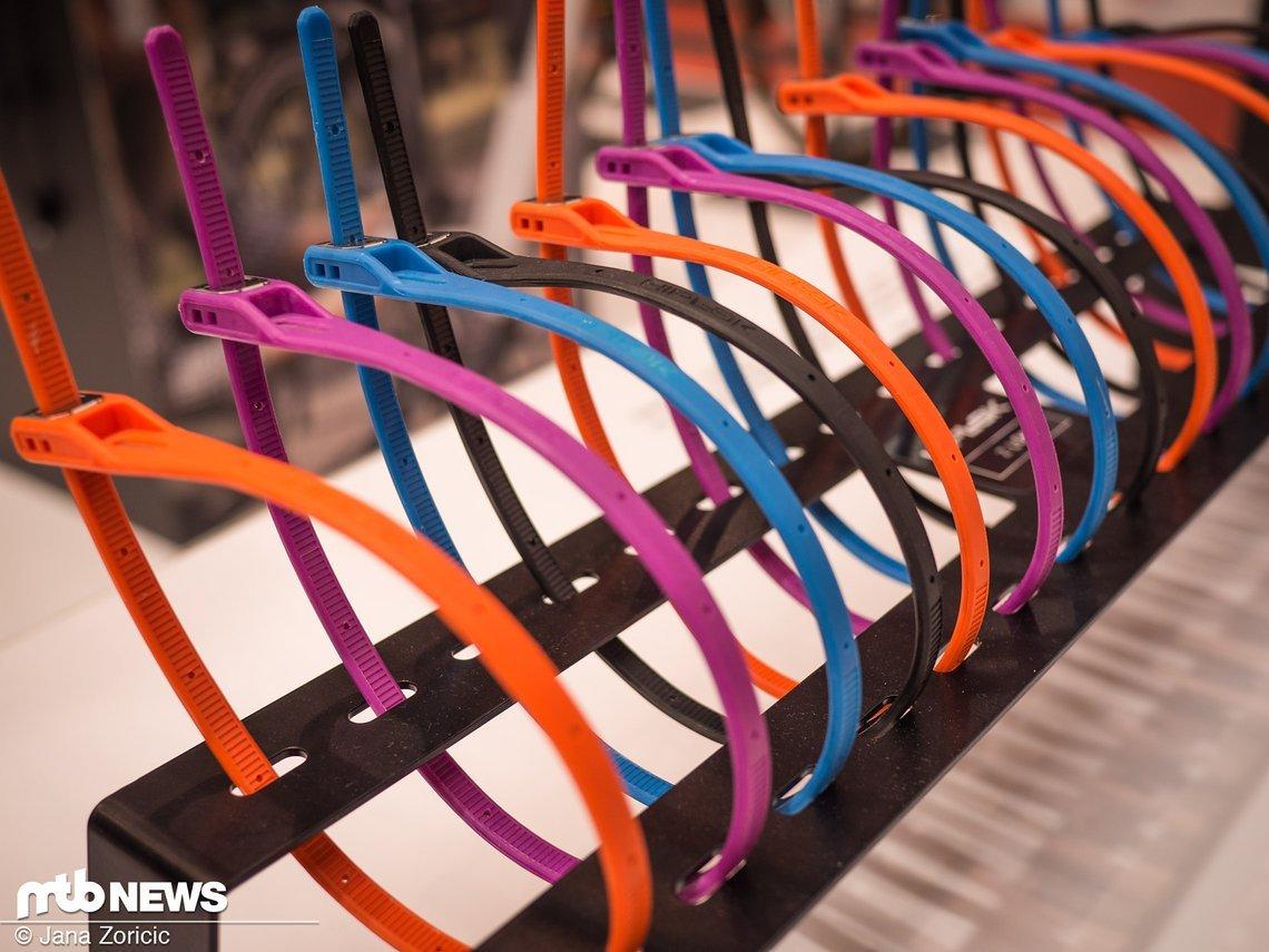 Das Kabelschloss Z-Lok hat Hiplok seit diesem Jahr im Programm