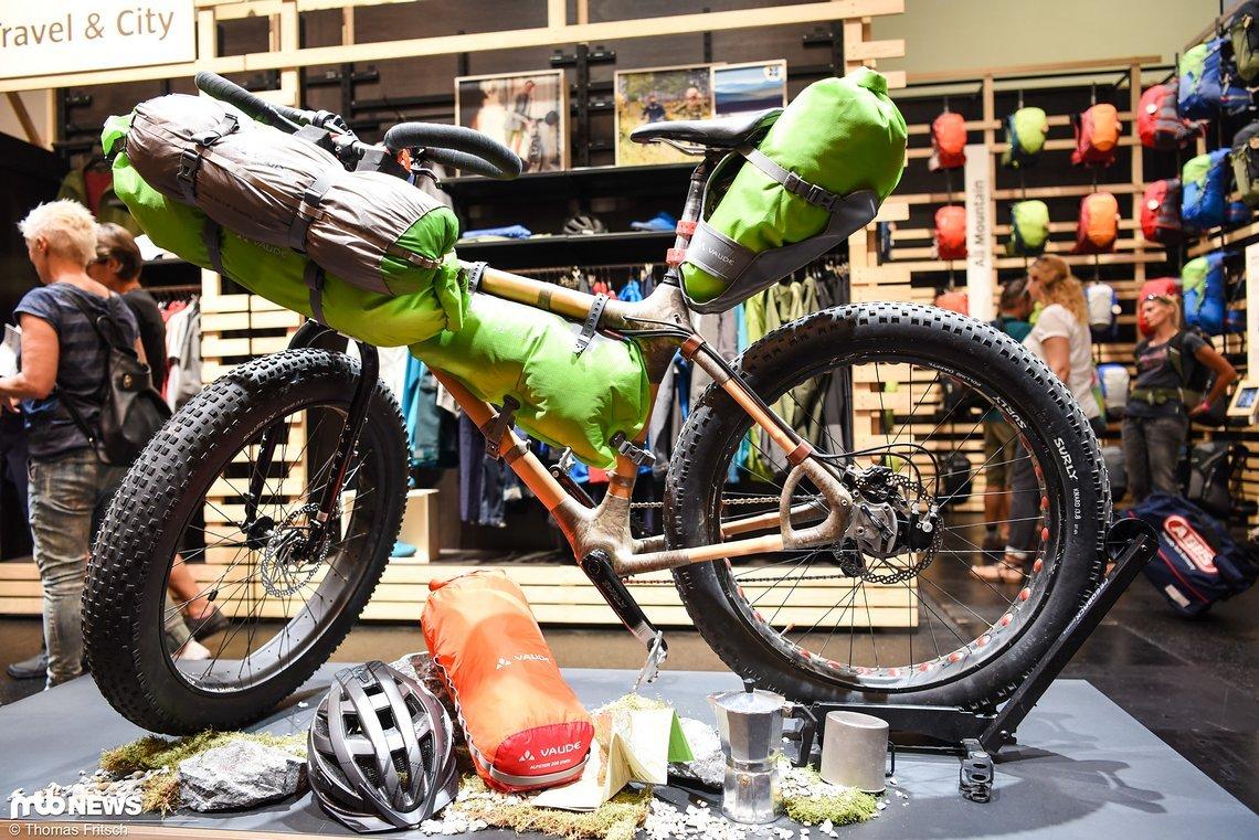 Die neuen Bikepacking Taschen von Vaude