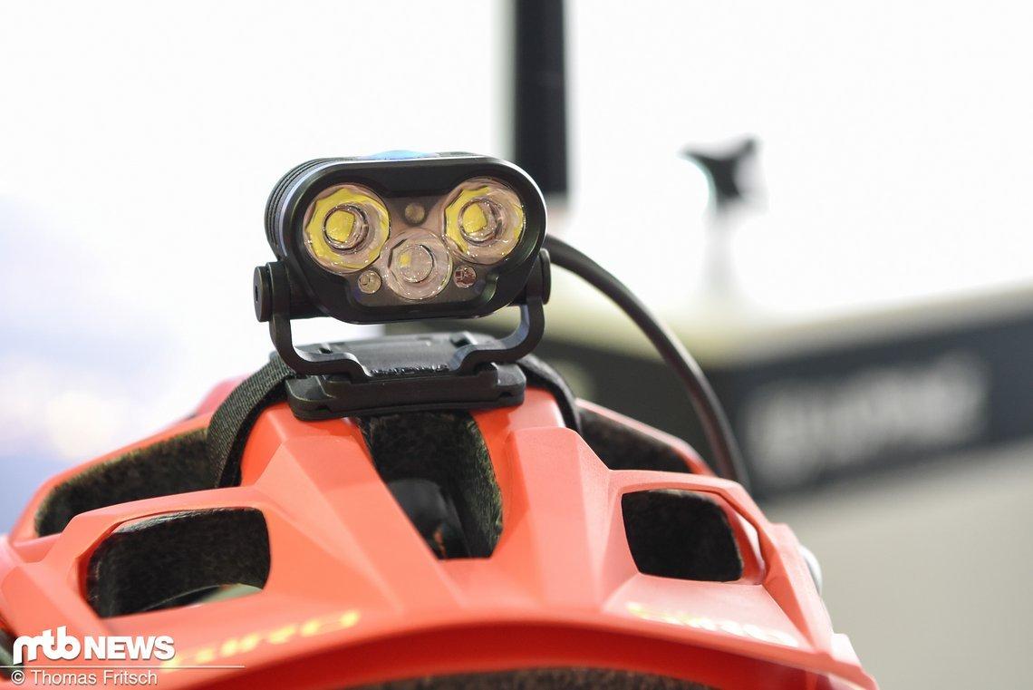 Insgesamt bestitzt die Blika 6 LEDs