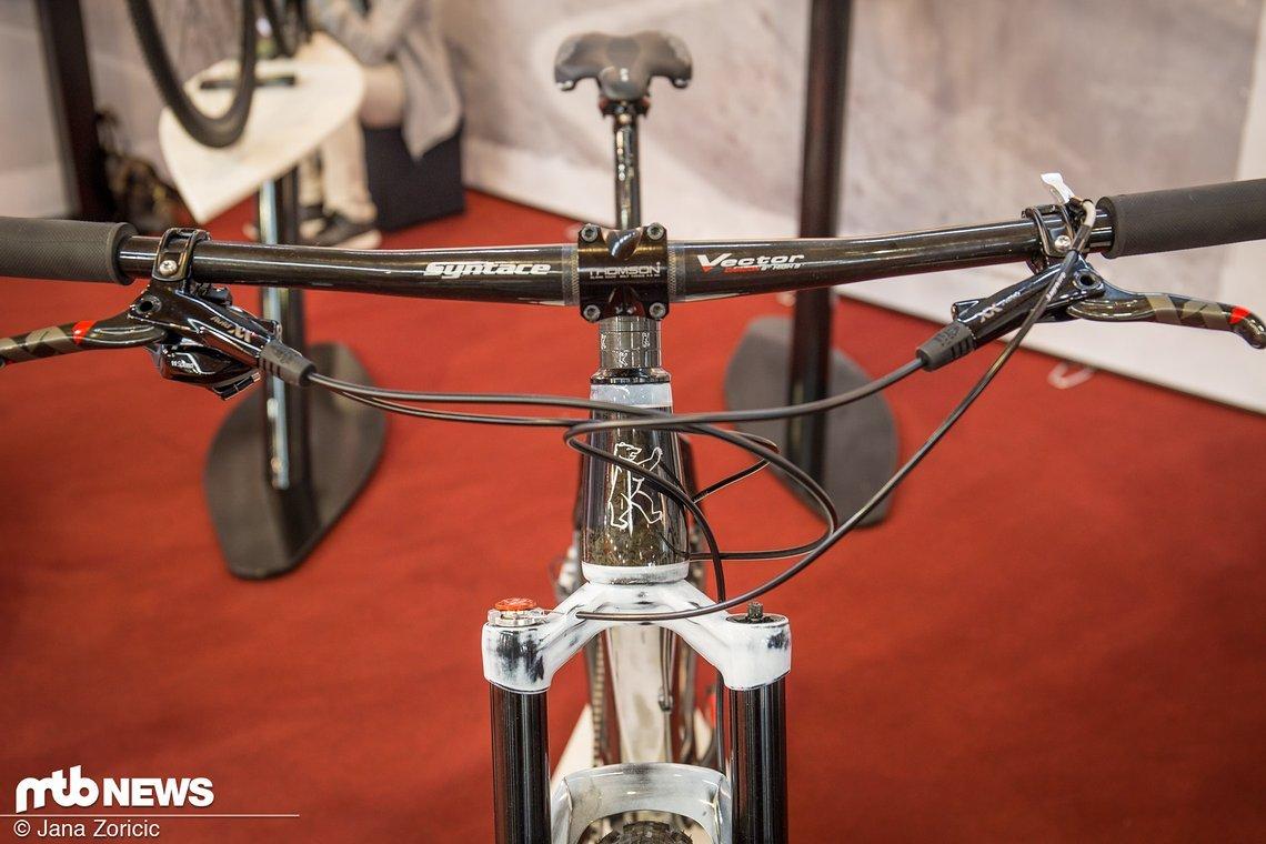 Syntace Anbauteile machen sich am Bike besonders gut