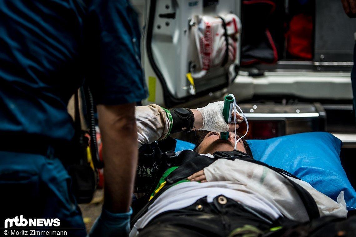 Aufgrund von Verletzungen wurde das Training immer wieder unterbrochen.