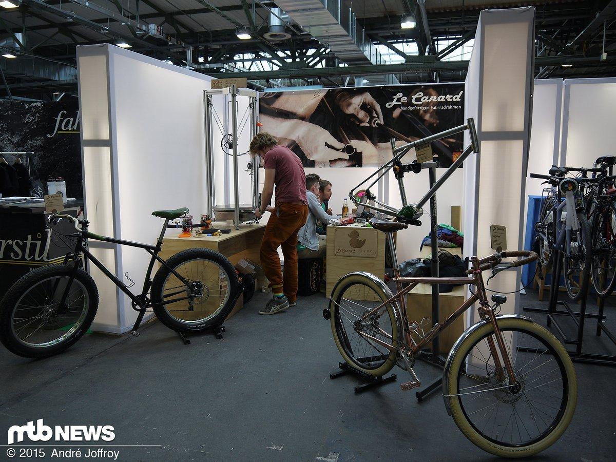 Berliner Fahrradschau: Rahmenbauer Impressionen