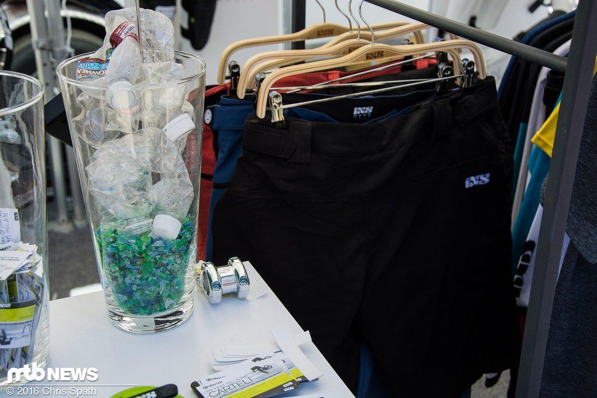 ... aus Plastikmüll wird Kunstfaser, aus Kunstfaser die neue Kollektion!