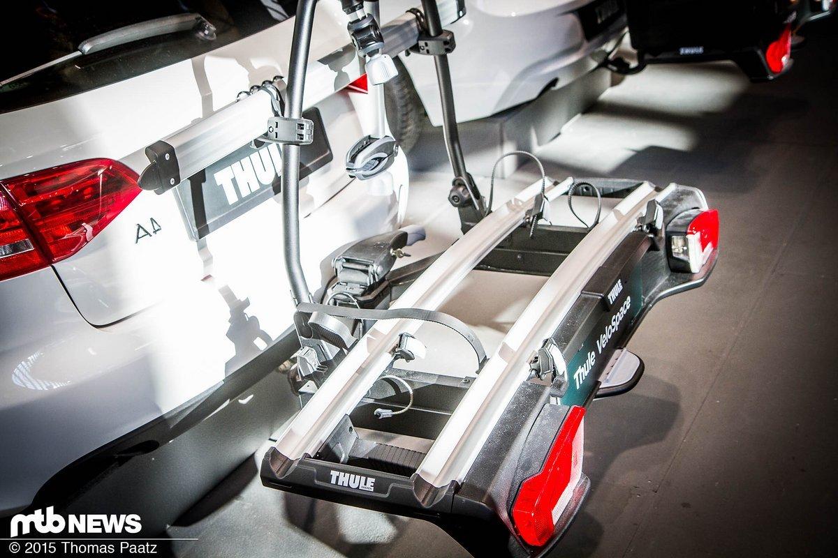 eurobike thule 2016 proride thruride velospace und. Black Bedroom Furniture Sets. Home Design Ideas