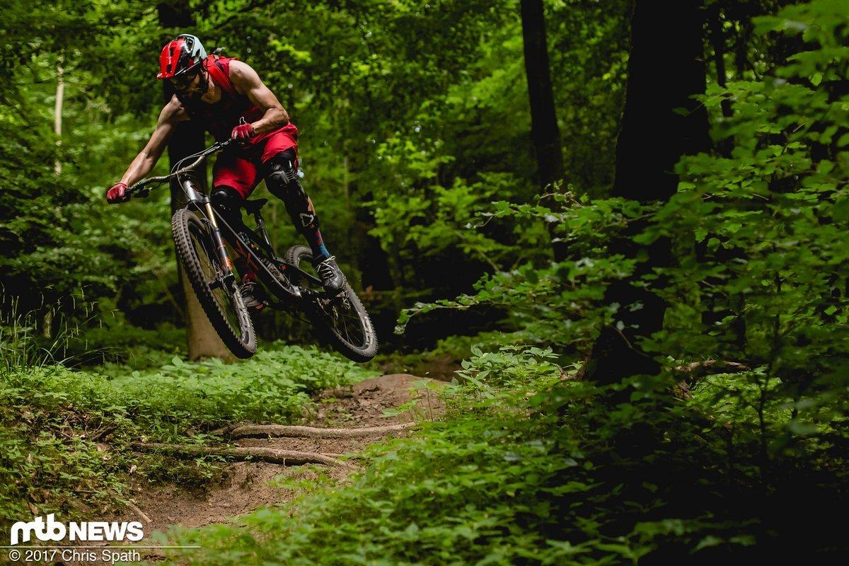 Schnelles Trailbike mit Reserven