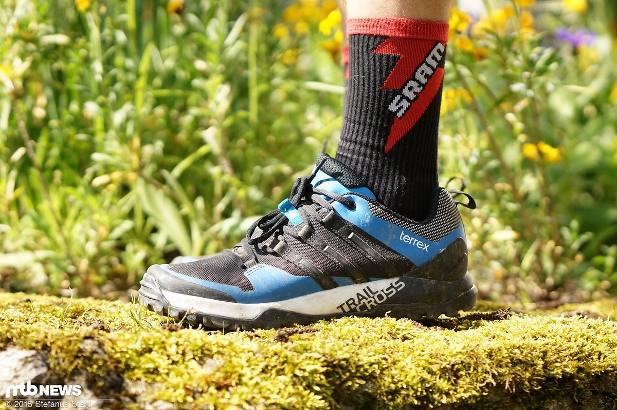 Test: Adidas Terrex Trail Cross SL MTB-Schuhe in der Praxis