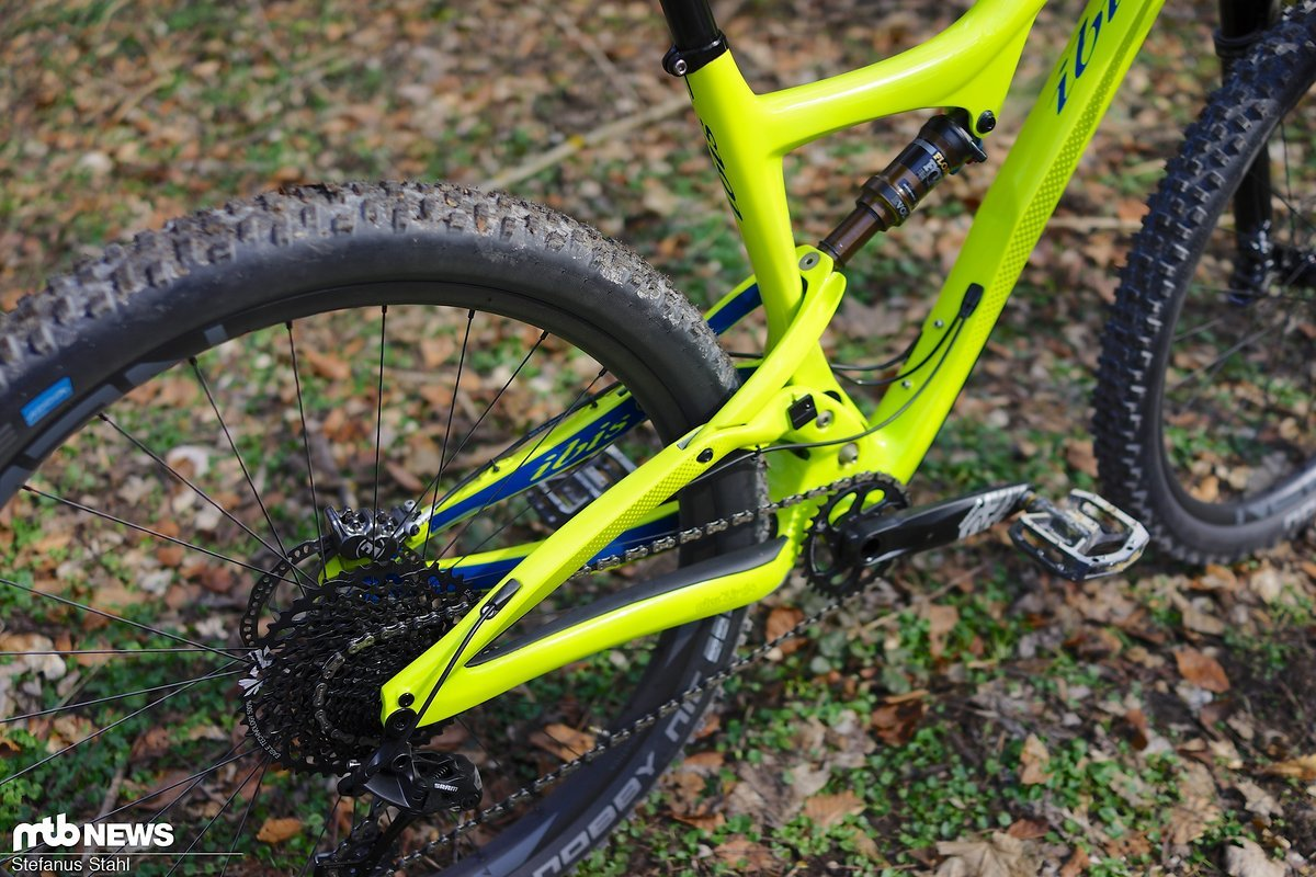 Leichterer Rahmen, schwerere 29+-Räder