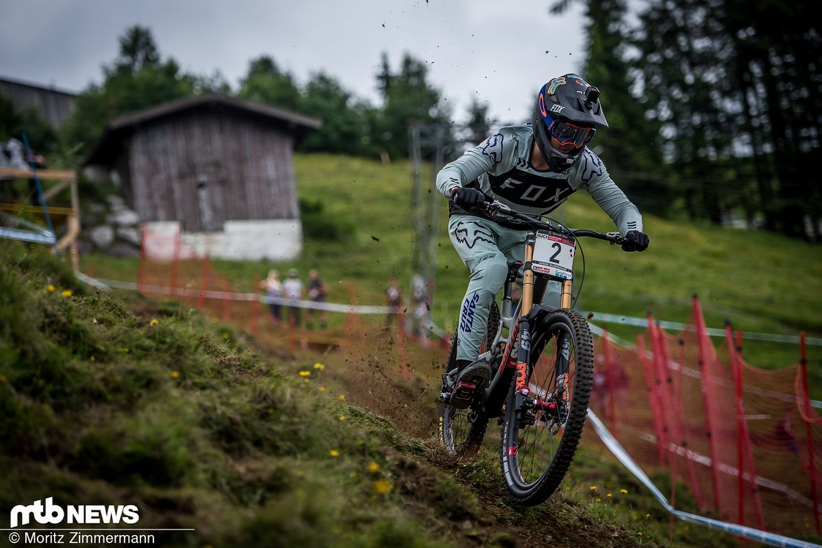 Loris Vergier ist in Leogang traditionell stark