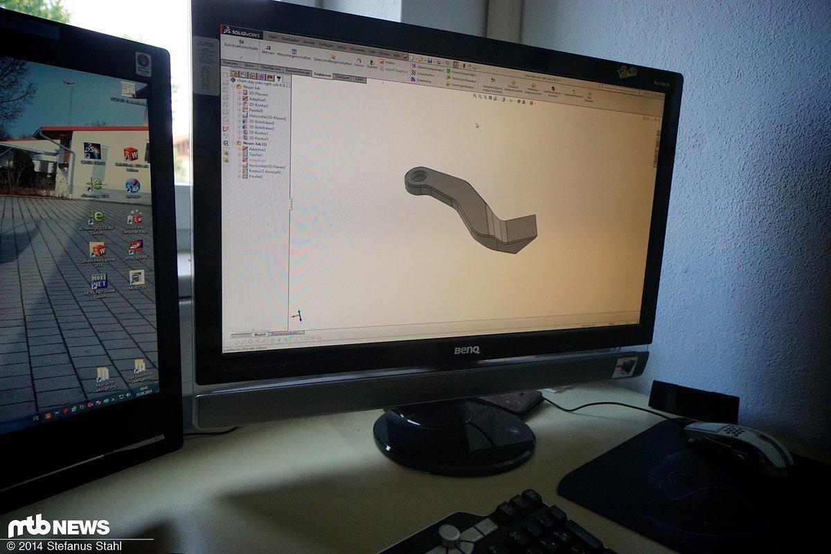 Hier beginnt die Geschichte eines Prototypenteils
