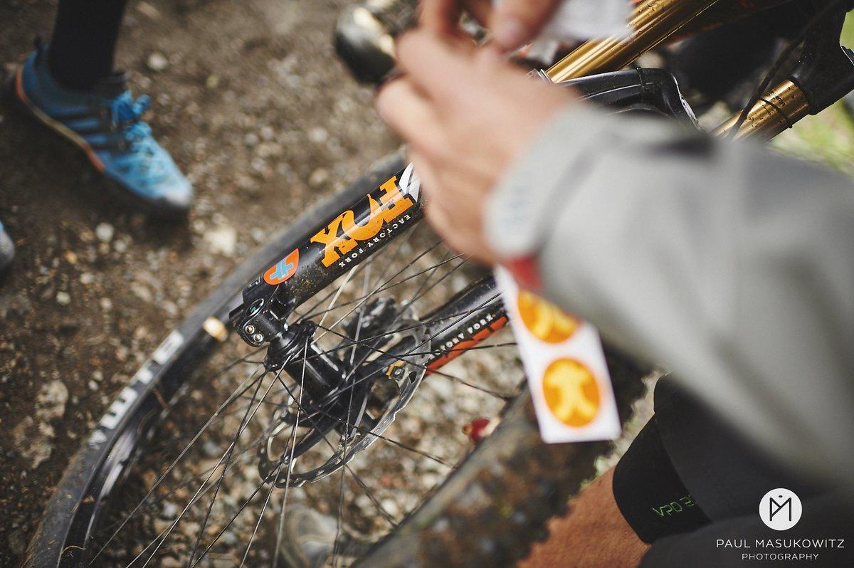 Bikes werden markiert
