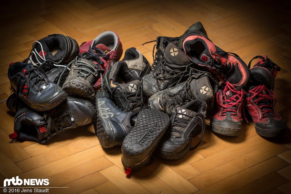 Wer hat hier ein Schuhproblem?