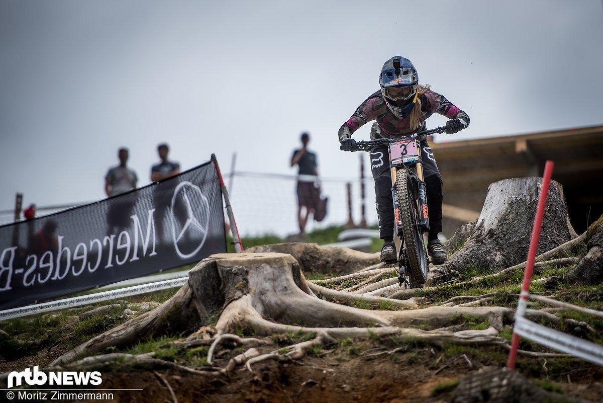Nach dem Sieg im Vorjahr und Platz 1 in der Qualifikation ist Tahnée Seagrave als Favoritin ins Rennen gegangen
