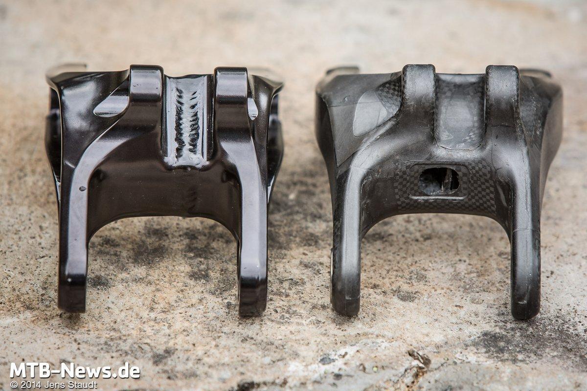 Aluminiumumlenkhebel und die Carbonversion davon