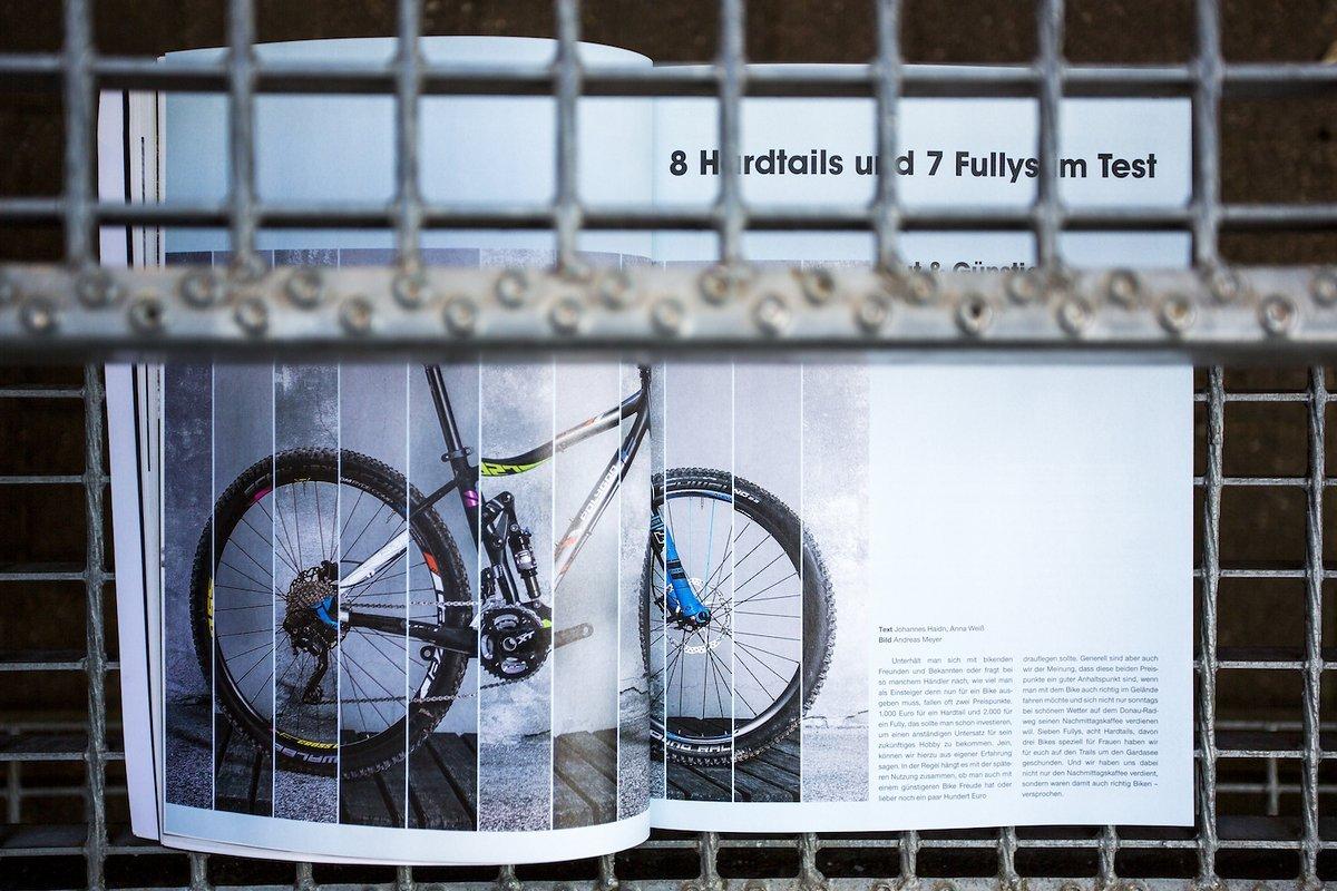 Der Biketest ist ruhiger und aufgeräumter, das Bike soll im Mittelpunkt stehen. Vergleichstests werden bereichert durch intensive Einzeltest, in dieser Ausgabe zwei Cube Stereos mit unterschiedlicher Laufradgröße.