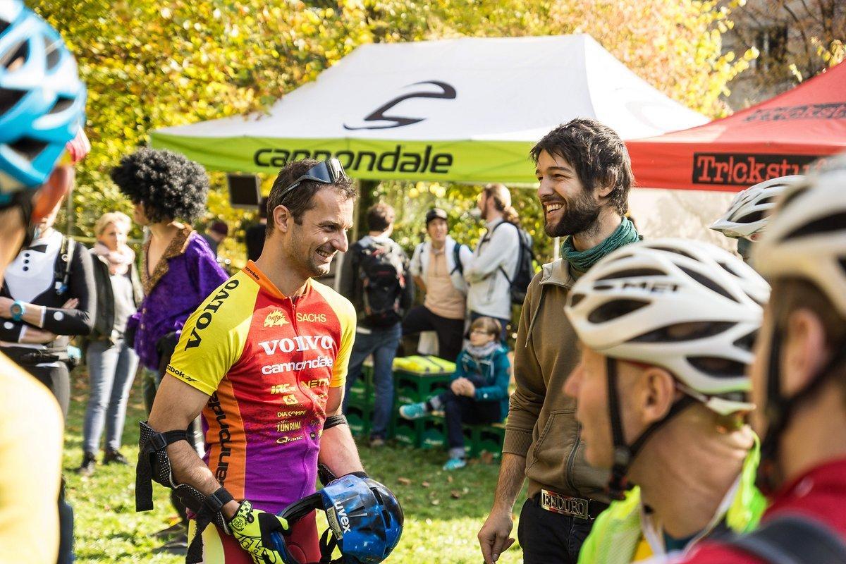 Auch Arne Grammer vom Bikepark Todtnau war am Start