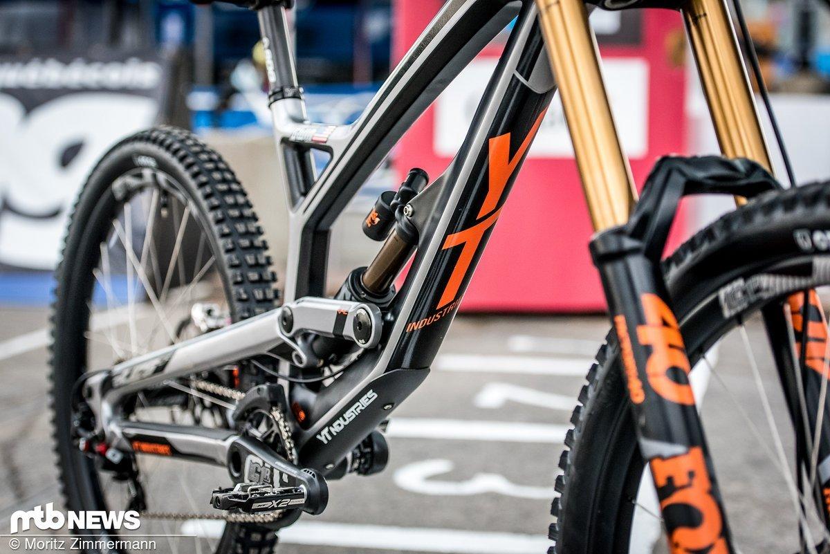 Bike Check: YT Tues CF von Aaron Gwin