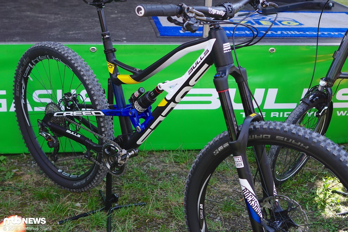 Eurobike: Bulls 2016 - Creed Enduro - MTB-News.de