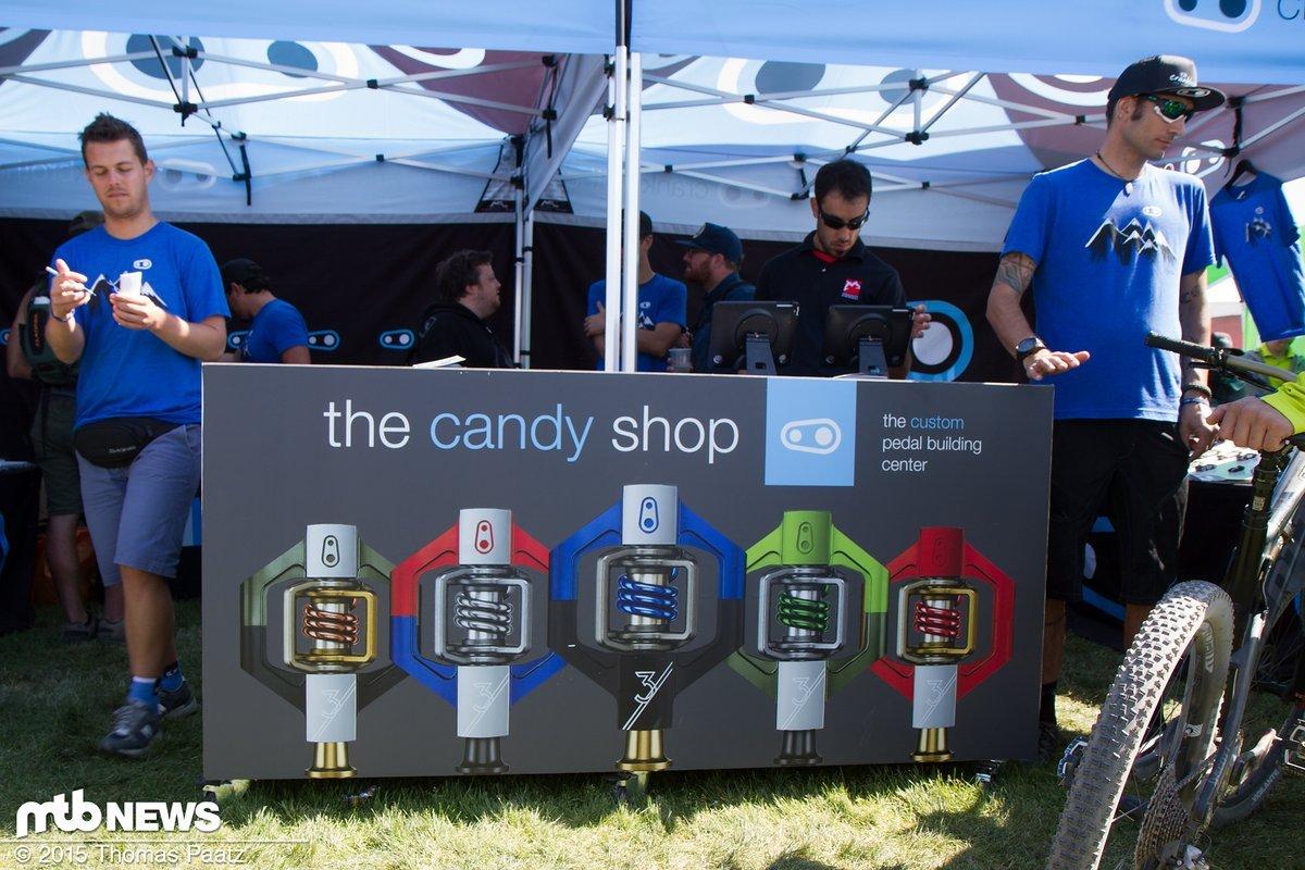 Neu: der Candy-Shop