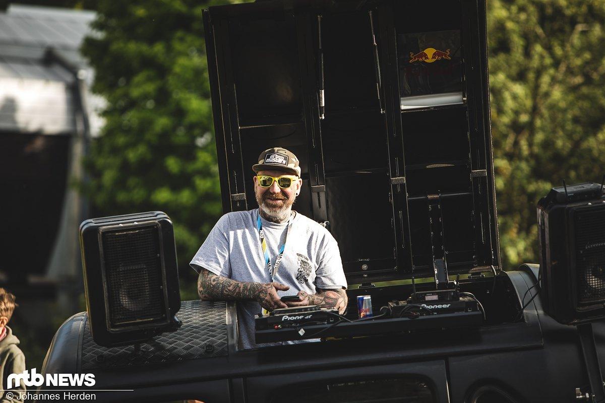MTB Rider-Boss Lippe war für die Musik zuständig