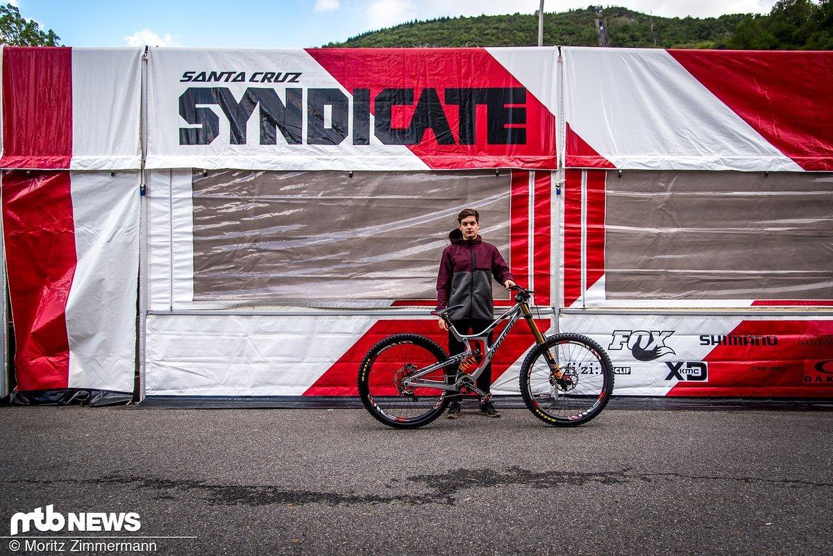 Einer der neuen Fahrer des legendären Syndicates ist der Franzose Loris Vergier
