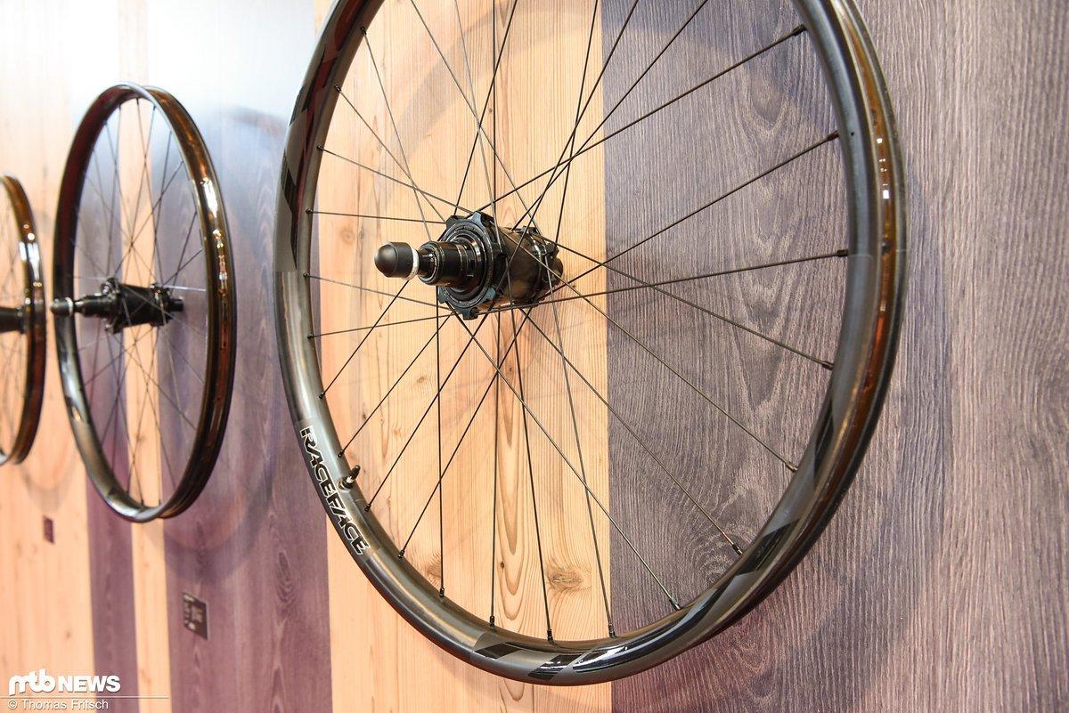 Die neuen Laufräder basieren auf der neuen Vault Nabe