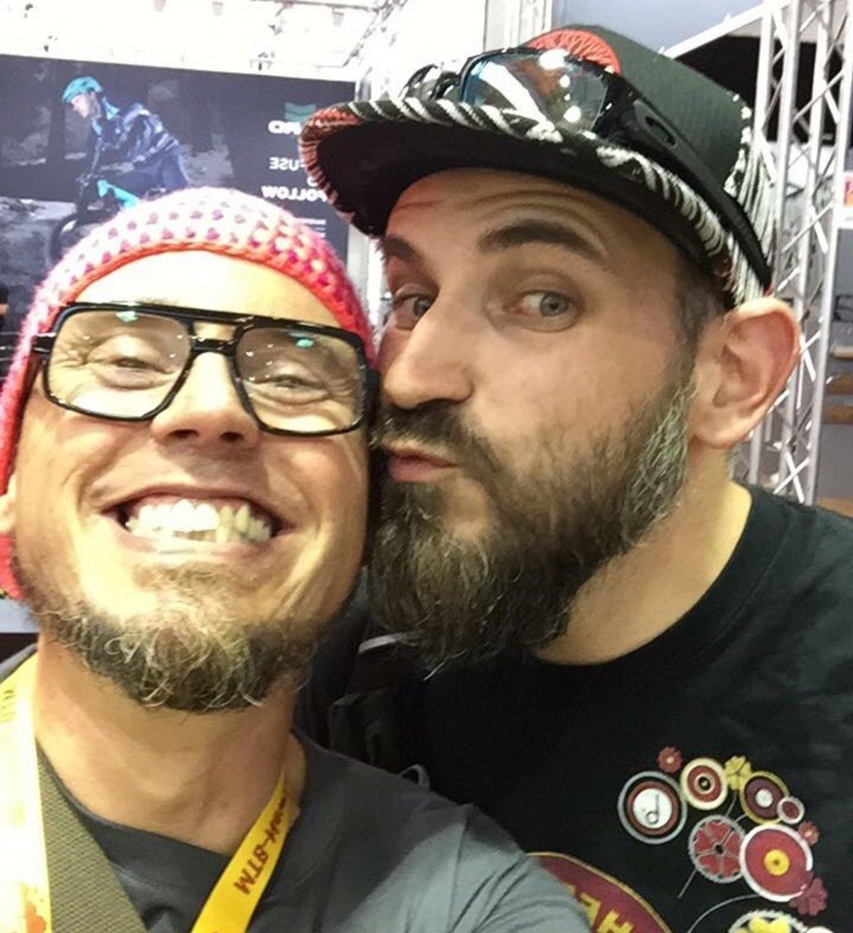 Muschi und Fabian