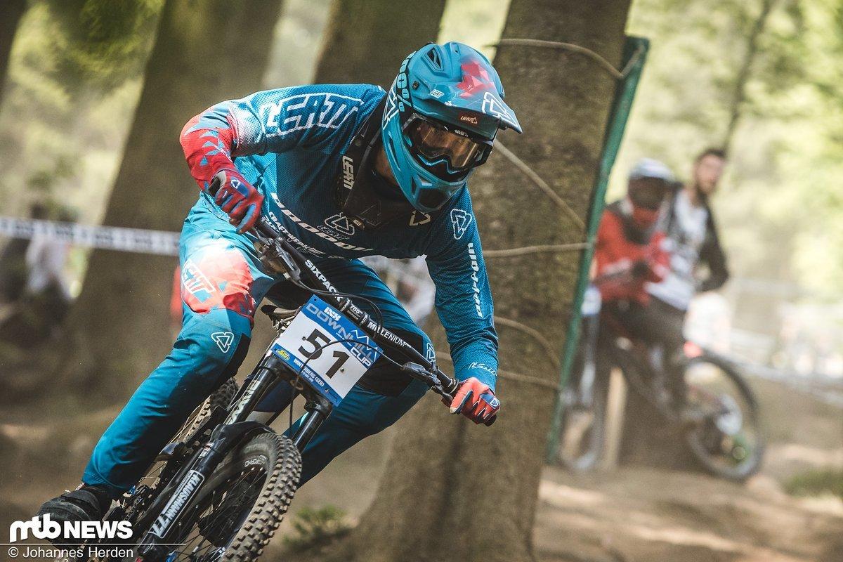 Hendrik Peters, Platz 79. Elite Men