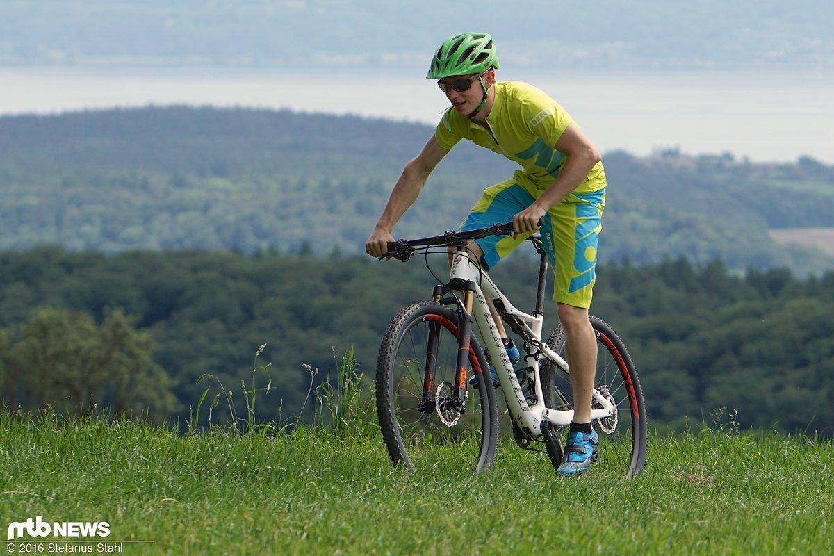 Der bike ahead composites THEflatbar hat sich in unserem Praxiseinsatz bewährt
