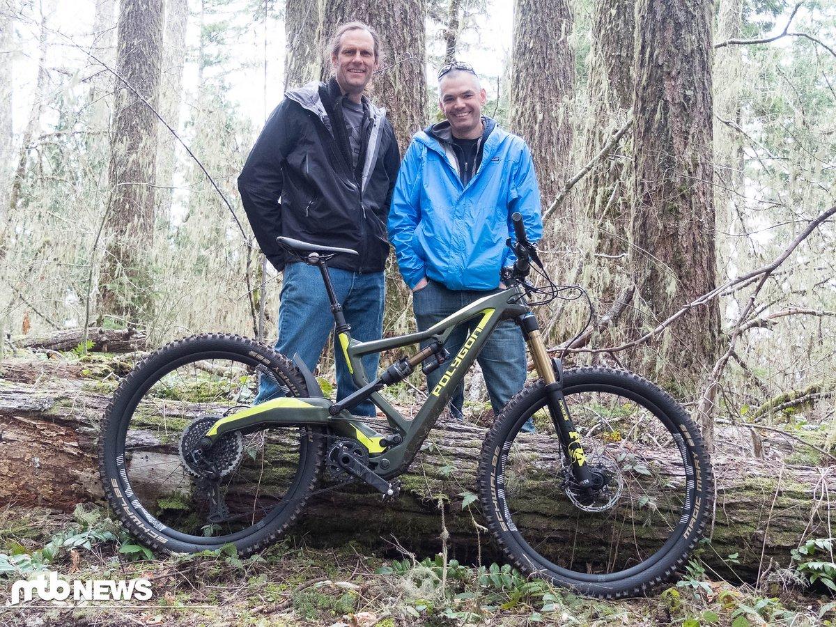 Darrell Voss zusammen mit Geoff Raynak