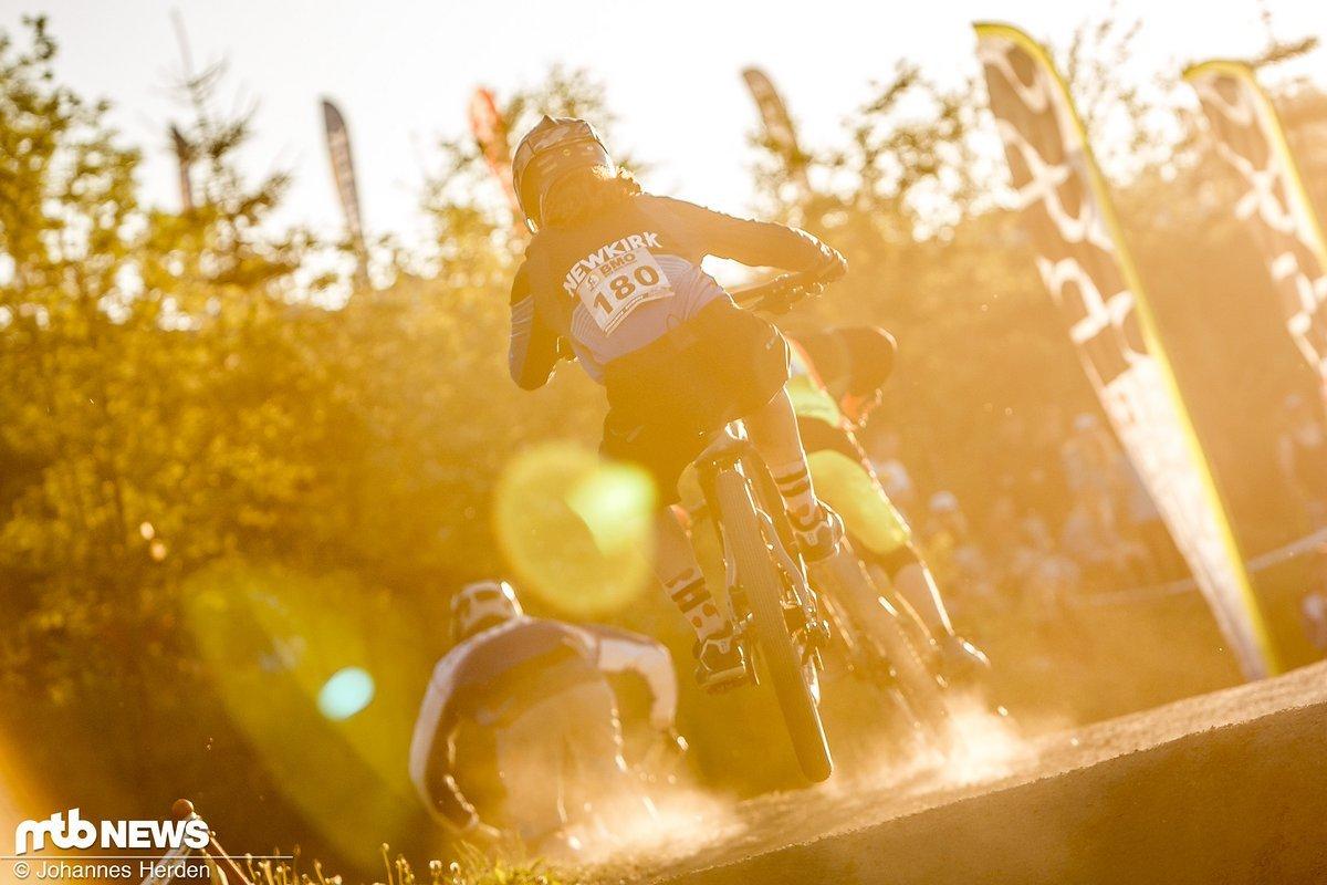 Racing im Sonnenschein