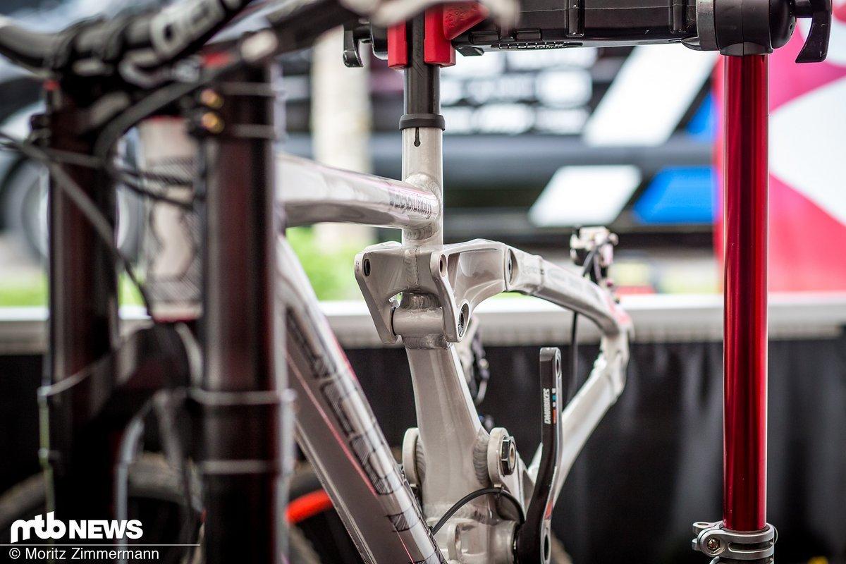 Nicht viele Bikes haben eine so radikale Transfomation hinter sich wie das Scott Gambler von Brendan Fairclough