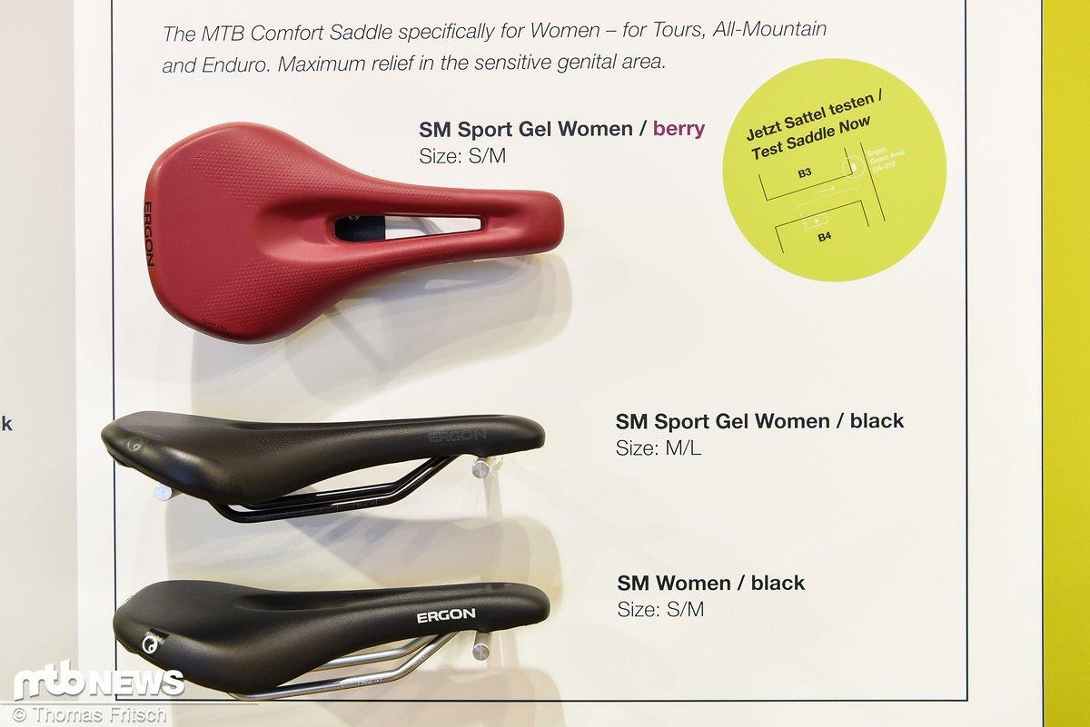 Der neue SM Women Sattel basiert auf der Analyse unzähliger Röntgenbilder und CT's von weiblichen Becken