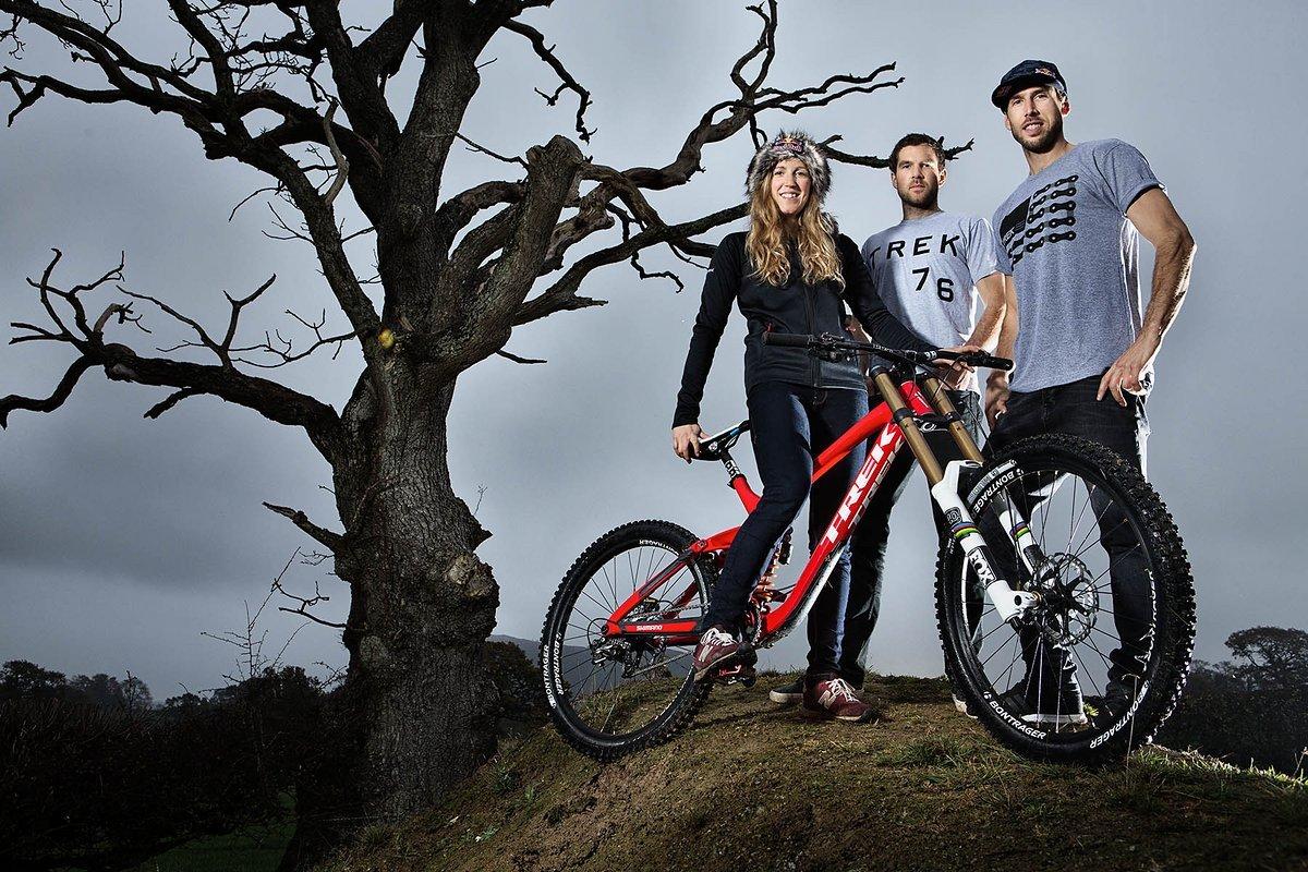 Das Trio aus Wales ist neuerdings auf Trek unterwegs
