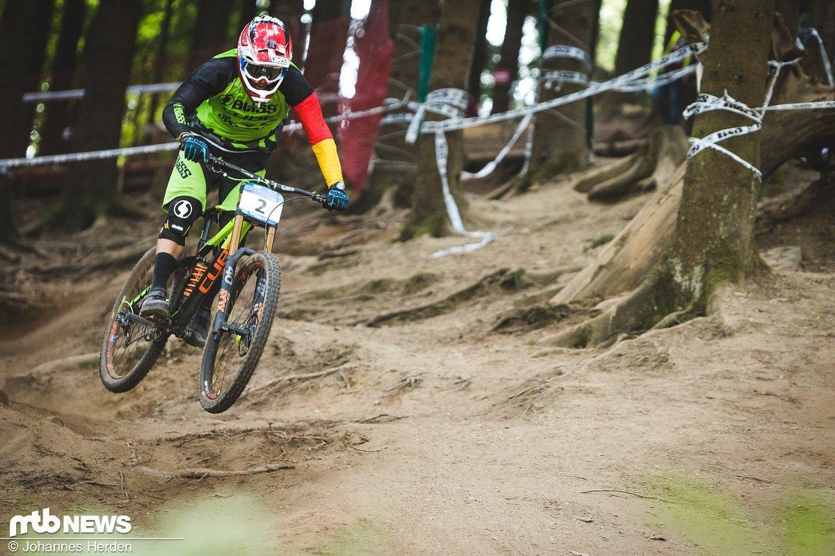 Max Hartenstern finishte auf Rang 15