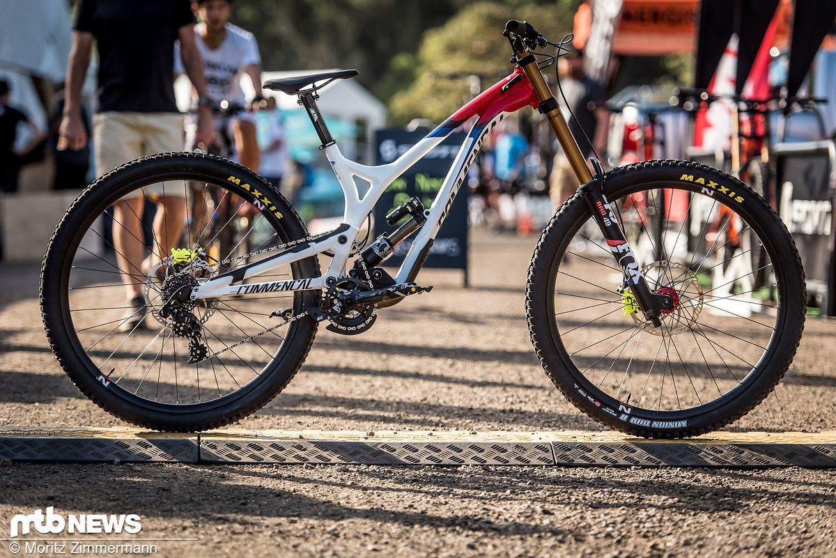 Amaury Pierron ist kürzlich in Val di Sole auf Platz 2 gefahren