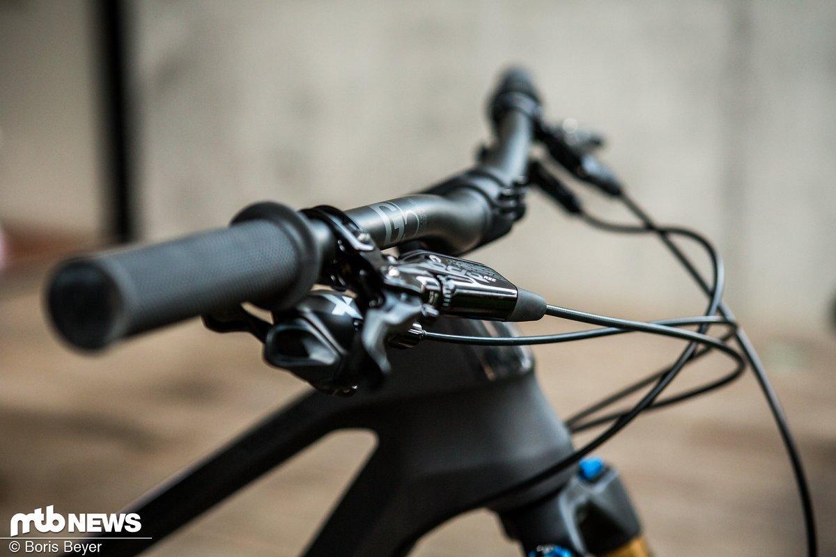 Canyon g5 komponenten lenker vorbau griffe f r den for Mountainbike lenker hohe verstellen