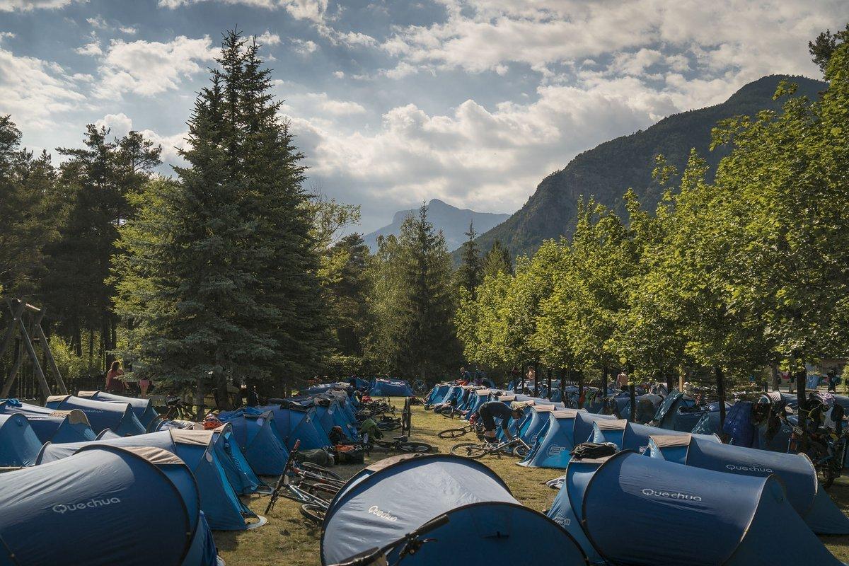 Angekommen im zweiten Camp!