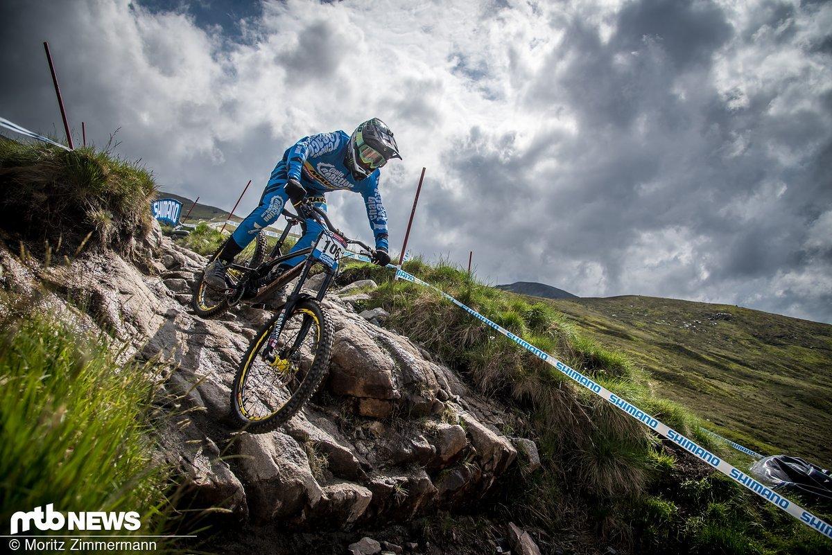 Sam Hill ist mittlerweile leider ein selten gesehener Gast bei Downhill-Weltcups