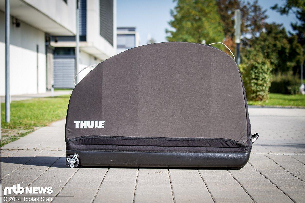 test thule roundtrip pro fahrradkoffer gut sortierter. Black Bedroom Furniture Sets. Home Design Ideas
