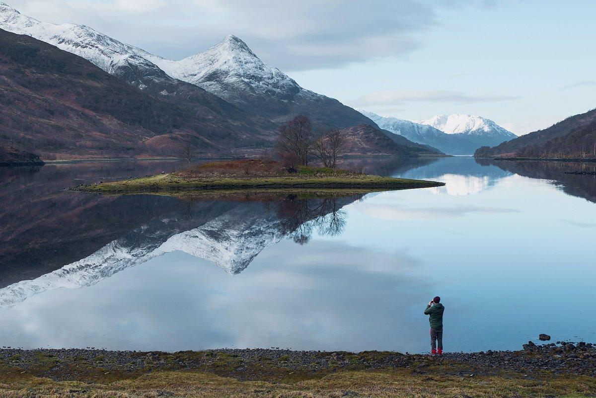 Für Tobis erste Reise auf Ghost ging es in die Highlands